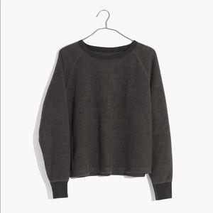 NEW Miles by Madewell Fleece Pajama Sweatshirt